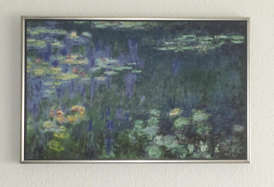 Kreuzstich-Kunst, Gestickt oder gemalt? - Monet